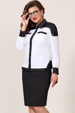 Комплект юбочный Vittoria Queen 8713 черный с белым