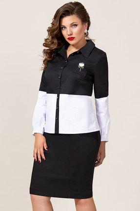 Комплект юбочный Vittoria Queen 8983 черный с белым