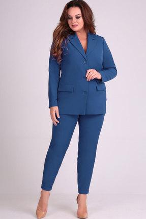 Комплект брючный Elga 12-622 синий