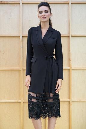 Платье ЮРС 19-151-2 черный