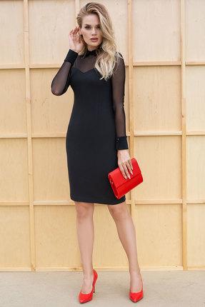 Платье ЮРС 18-867-2 черный