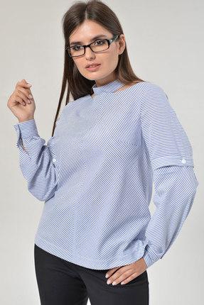 Блузка MALI 625 голубой
