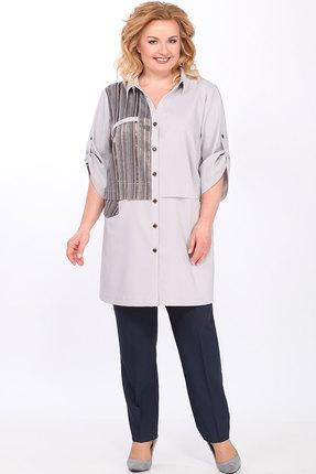 Комплект брючный Lady Secret 2633 серый с черным