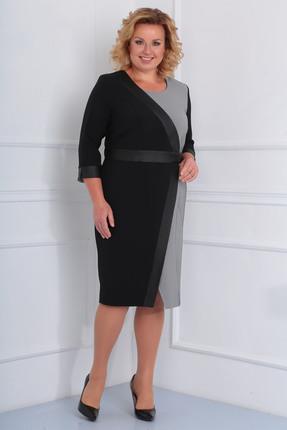 Купить со скидкой Платье Диамант 1459 черный