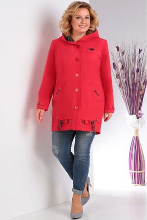 женская куртка milana, красная