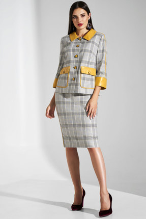 Комплект юбочный Lissana 3765 серый