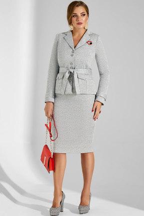 Комплект юбочный Lissana 3782 серый