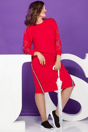 Комплект юбочный Juliet Style D77 красный