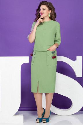 Комплект юбочный Juliet Style D82 нежно-салатовый