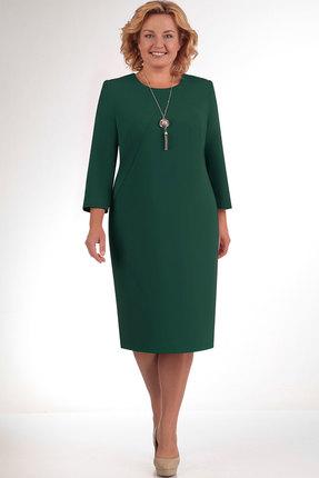 Платье Elga 01-434 зелень