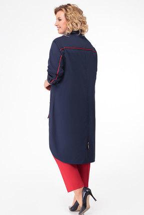 Фото 2 - Комплект брючный KetisBel 2451 синий с красным цвет синий с красным