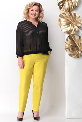 Комплект брючный Michel Chic 1123 черно-желтый