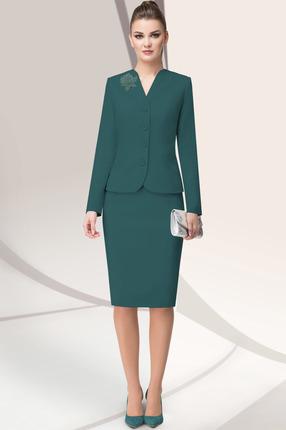 Комплект юбочный LeNata 22865 зеленый