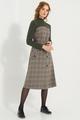 Платье Фантазия Мод 3518 серые тона, размер