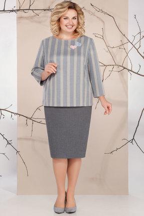 Комплект юбочный Ivelta plus 2479 серый