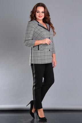 Комплект брючный Jurimex 2058 серый с черным