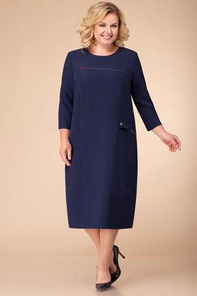 Платье Линия-Л Б-1741 синий