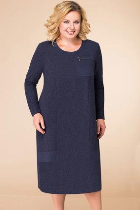 Платье Линия-Л Б-1745 синий