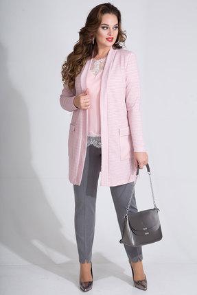 Комплект брючный Лилиана 741В-3 розовый