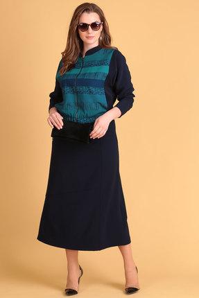 Комплект юбочный Viola Style 2629 синий