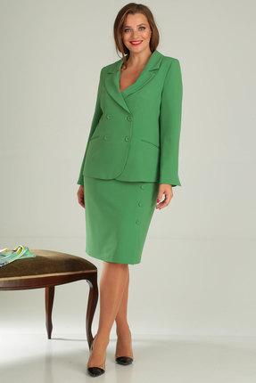 Комплект юбочный Viola Style 2630 зеленый