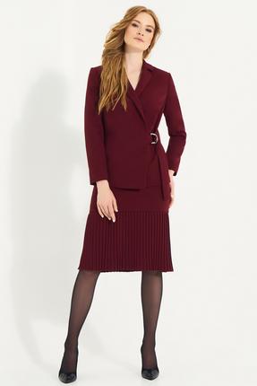Комплект юбочный Фантазия Мод 3479 бордовый