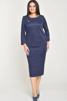 Комплект юбочный Elga 22-518 синий