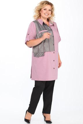 Комплект брючный Lady Secret 2633 розовый с черным