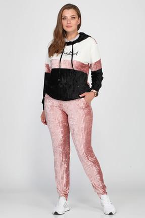 Комплект брючный Anastasia Mak 640 розовый