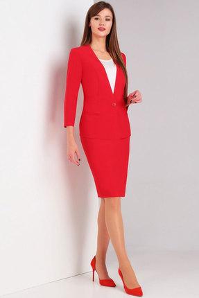 Комплект юбочный Милора-Стиль 732 красный
