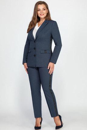 Комплект брючный LaKona 1238 серо-синий