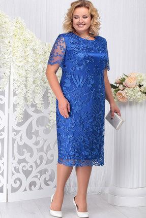 Платье Ninele 7231 василёк