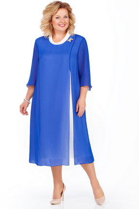 Платье Pretty 903 василек