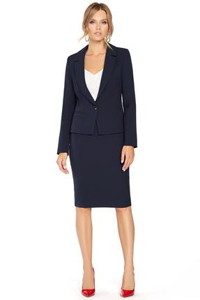 Комплект юбочный PIRS 785 темно синий
