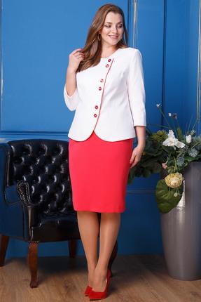 Комплект юбочный Anastasia 319 коралловый
