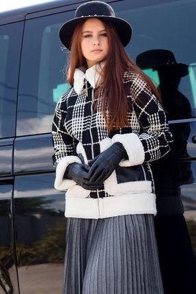 Куртка Vesnaletto 2122 черно-белый
