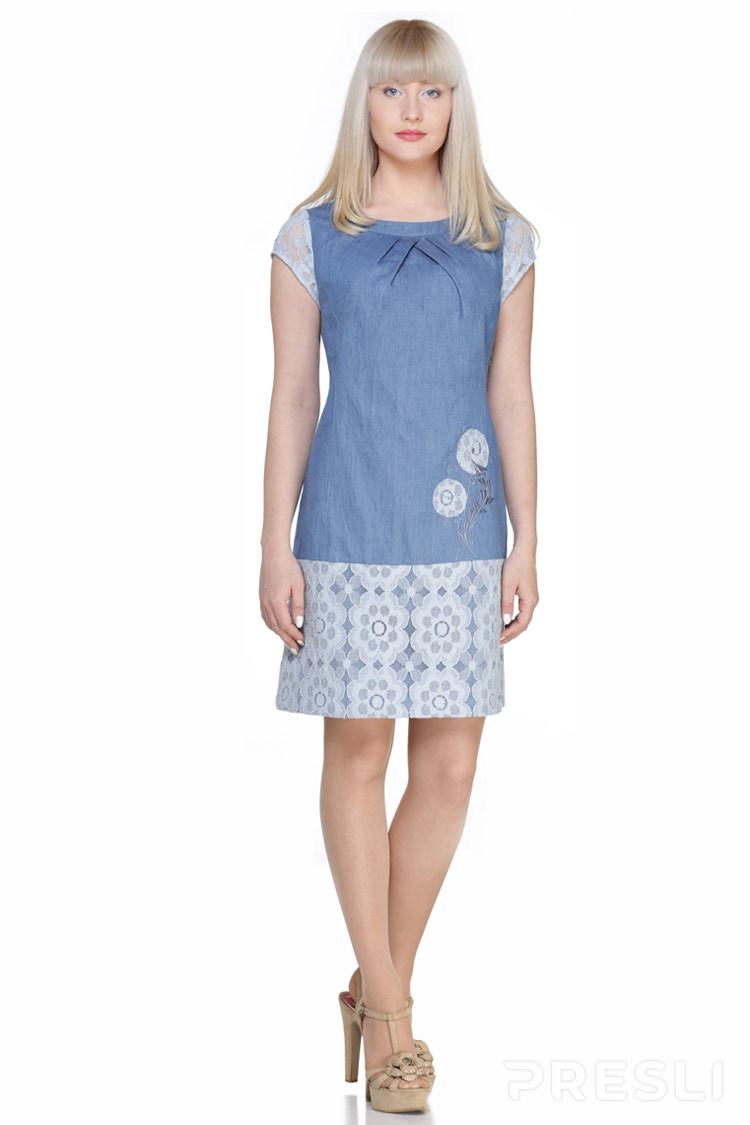 Платье Golden Valley 4137 синий