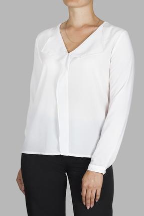 женская блузка mirolia, кремовая