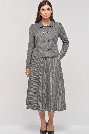 Комплект юбочный Elga 22-579 светло-серый