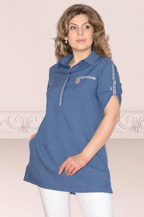 Туника Needle Ревертекс 380/1 голубой