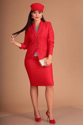 Комплект юбочный Мода-Юрс 2224 красный