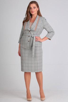 Комплект юбочный Ladis Line 1118-1 серый