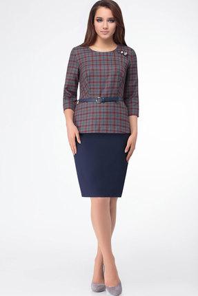 Комплект юбочный Bonna Image 357 тёмно-синий+бордовый