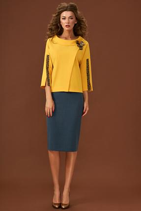 Комплект юбочный Магия Моды 1617 желтый