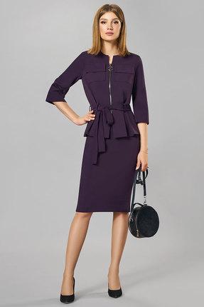 Комплект юбочный Denissa Fashion 1258 фиолетовый