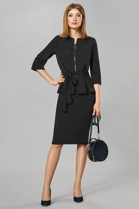 Фото - Комплект юбочный Denissa Fashion 1258 черный черного цвета