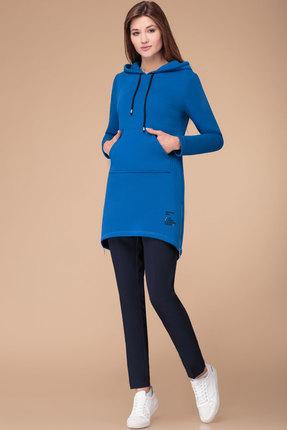 Спортивное платье Svetlana Style 1268 синий