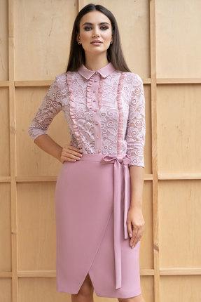 Комплект юбочный ЮРС 19-870-1 нежно розовый