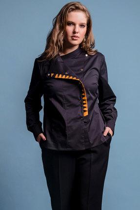 Купить со скидкой Блузка S. Malich 11121-2 черный