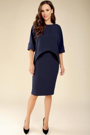 Комплект юбочный Teffi style 1427 синий